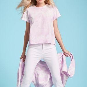 525America  tie-dye pink shirt tee, NWT, Medium